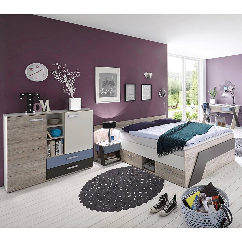 Schlafzimmer Komplett Günstig 20x20  Metall Bettgestell 20x20