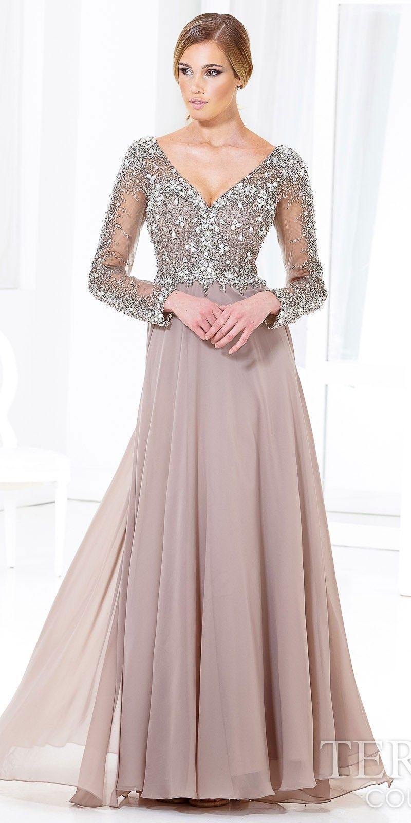 Hug Shoulder Evening Dress by Terani Couture | Fashion ideas ...