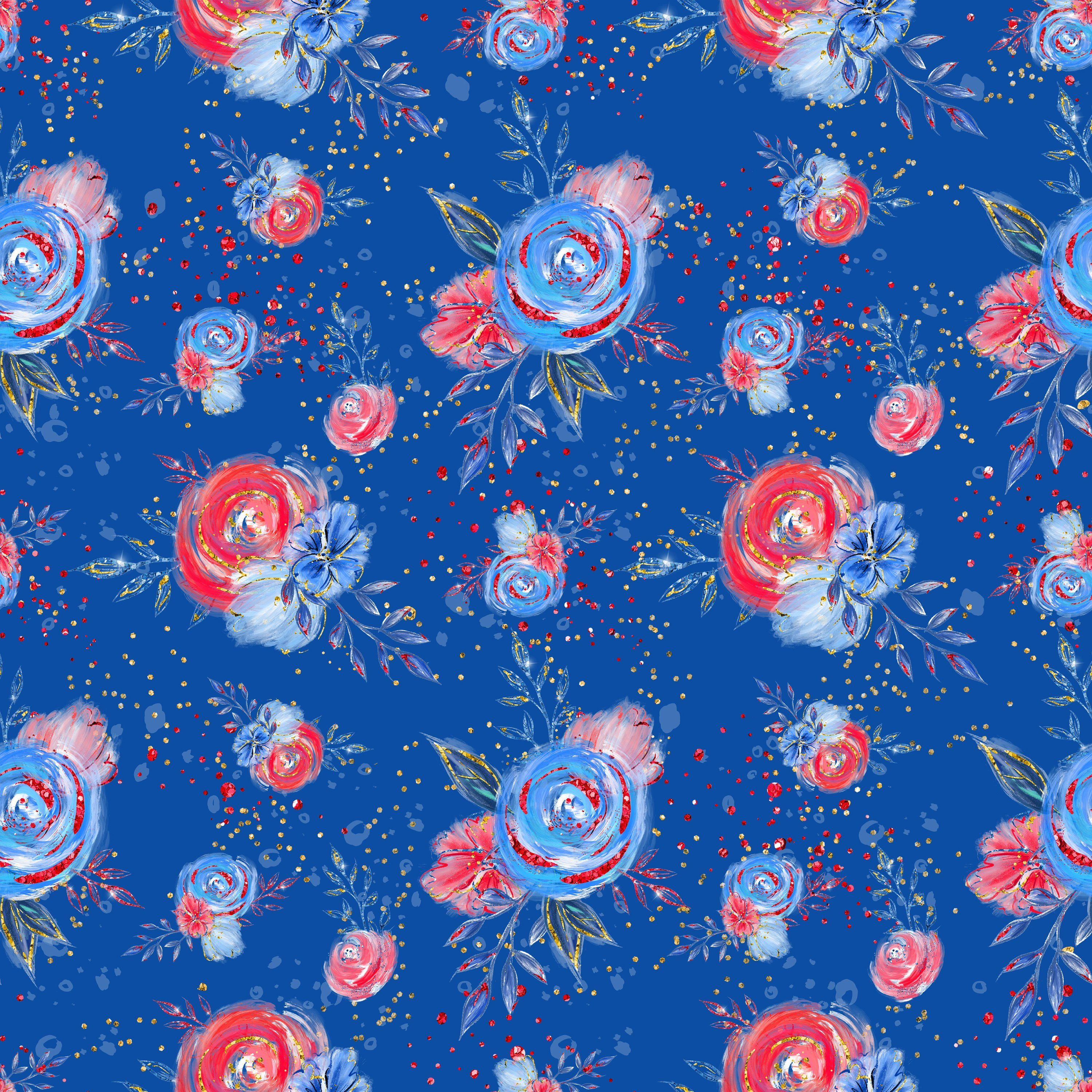 985bf23f258 Floral fabric, independence fabric, 4th of July fabric, cotton fabric, knit  fabric, fabric by the yard, flower fabric, fourth of July, roses