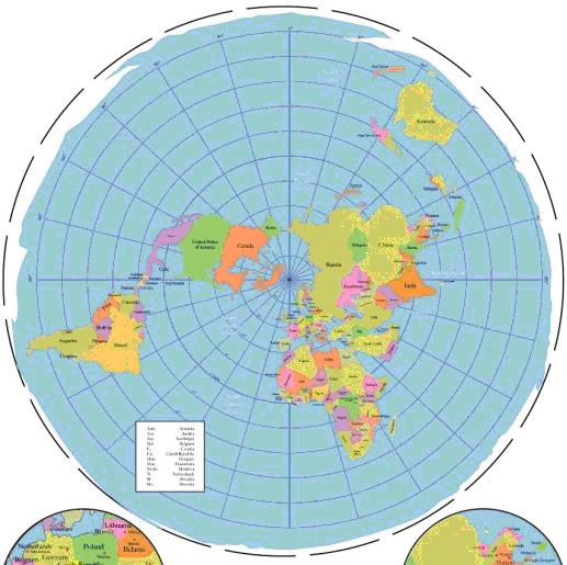 flat earth map   Google Search | Bible Prophecy | Terra plana