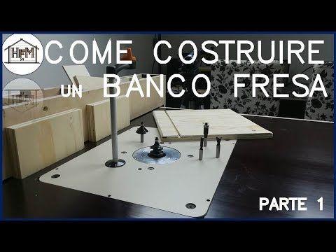 Tavolo Fresa ~ Come costruire un banco fresa fai da te parte ww router