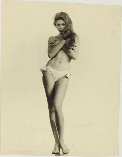 Brigitte Bardot, cover, March 1958. Photographer unknown