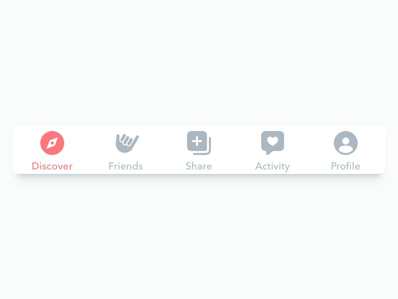Tab Bar Icons App Design Web Design Mobile Web Design