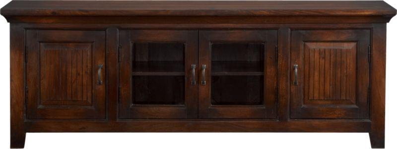 kavari 72 media console crate and barrel wish list media storage console furniture sale. Black Bedroom Furniture Sets. Home Design Ideas