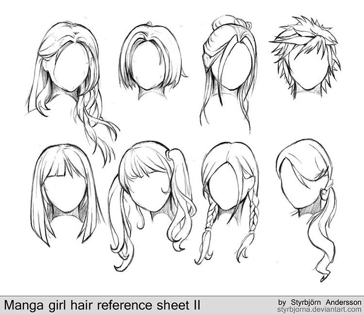Photo of 22+ Girl Hair Drawing Ideas and References – Beautiful Dawn Designs
