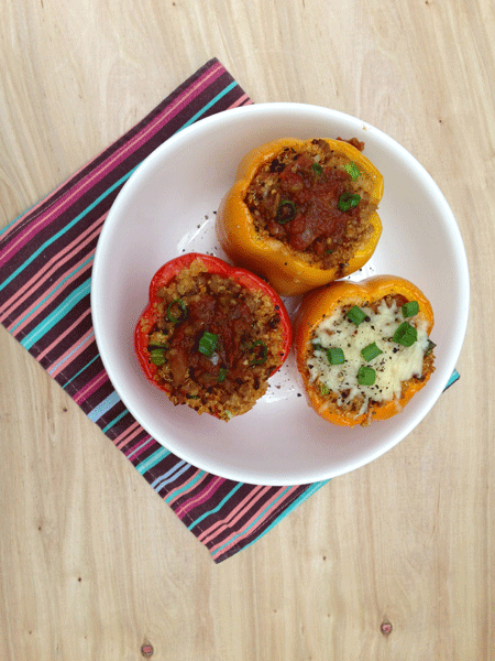 StuffedPeppers (With images) Stuffed peppers, Air fryer