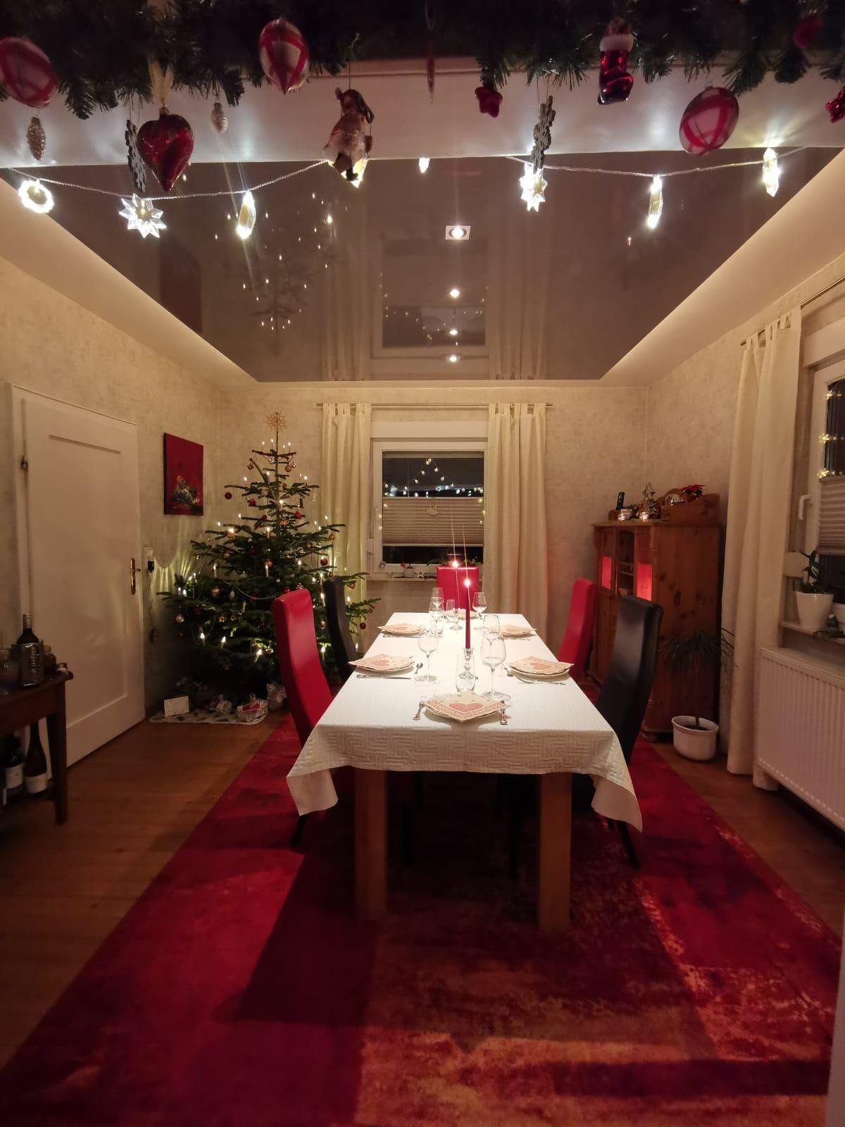 Spanndeckenmodul An Weihnachten In 2020 Spanndecken Haus Deko Deckenverkleidung