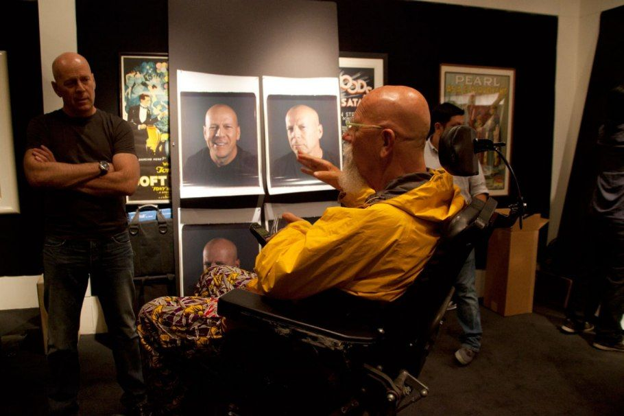 Chuck Close Portraits Vanity Fair