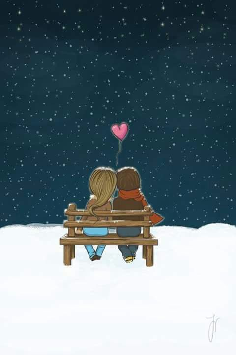 Love Stars And Couple Image Love Wallpaper Just You And Me This Is Love
