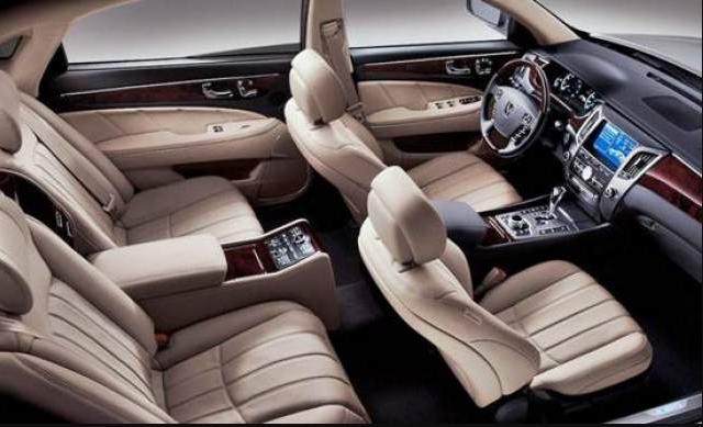 2018 Hyundai Equus Interior Decorations
