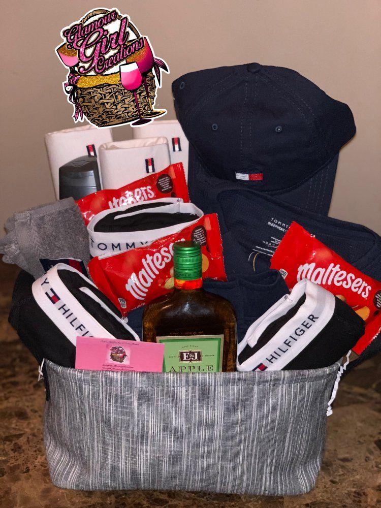 Image of Large Tommy Hilfiger basket Boyfriend gift