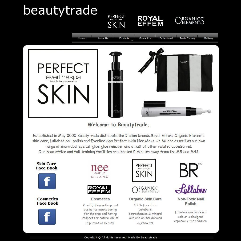 Beautytrade Ltd Beauty Products Severndale Bridgnorth