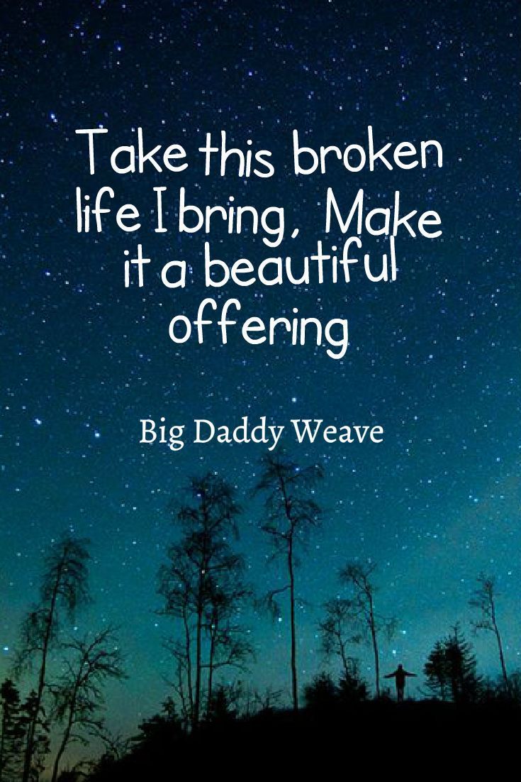 Big Daddy Weave ~ Beautiful Offering