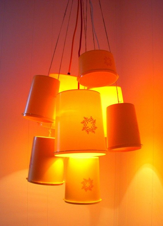 Tupperware lights?! This is a good source for my love of vintage tupperware.