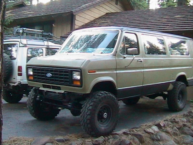 86 Ford E350 4x4 Reno Nv Pirate4x4 Com 4x4 And Off Road Forum