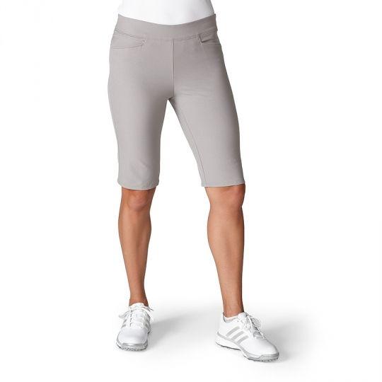 Grey Adidas Ladies Adistar Bermuda Pull On Golf Shorts now at one ...