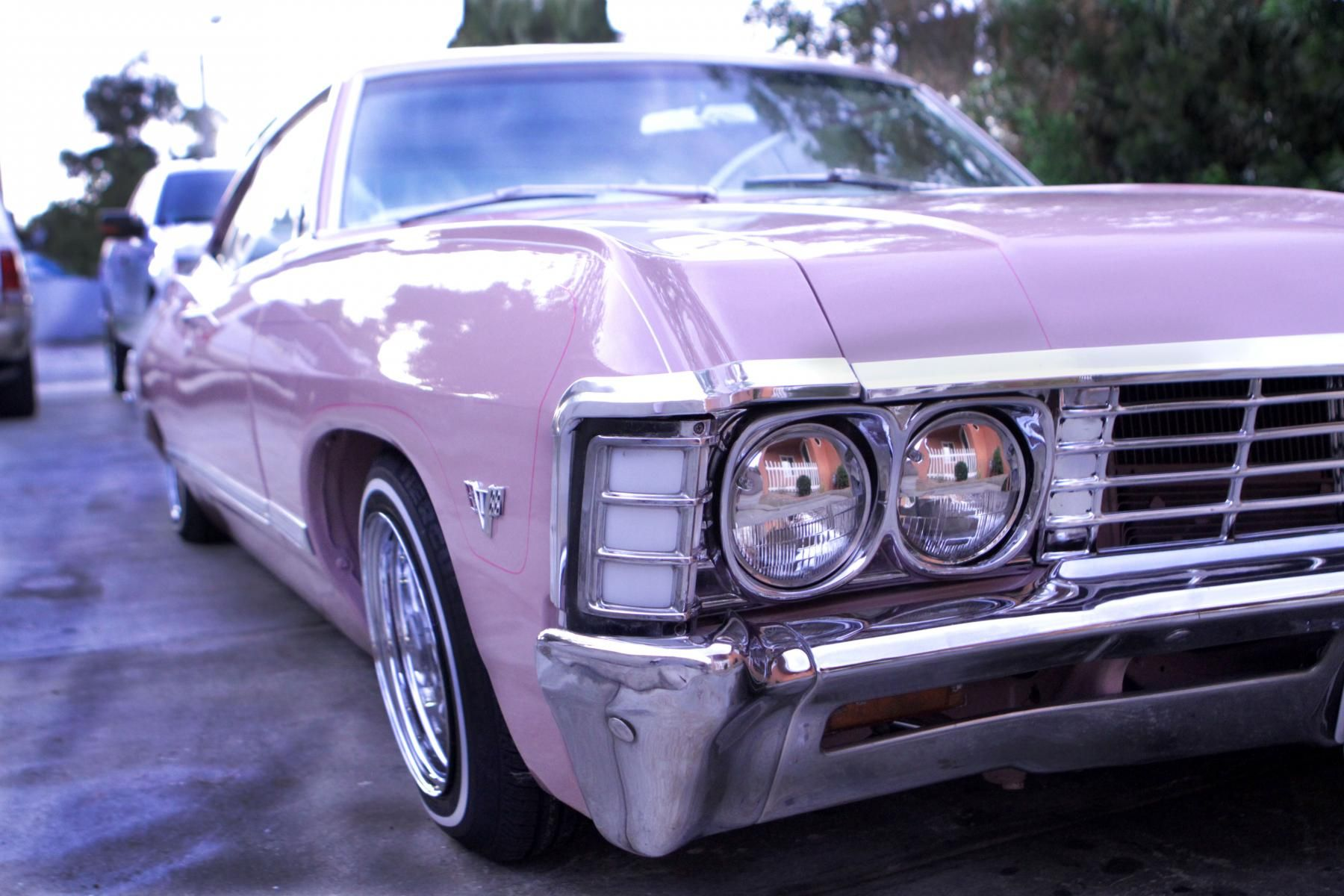 Lavender Impala 67 Impala Chevy Impala