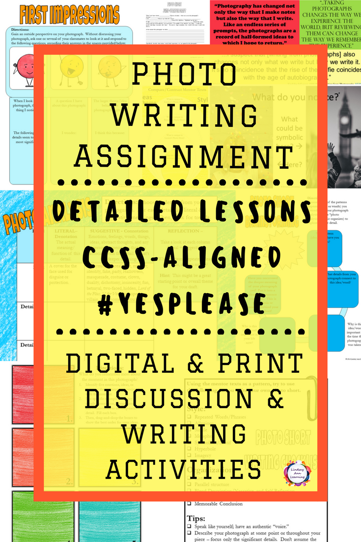 Creative Writing Assignment | Lesson Plans & Google Slides
