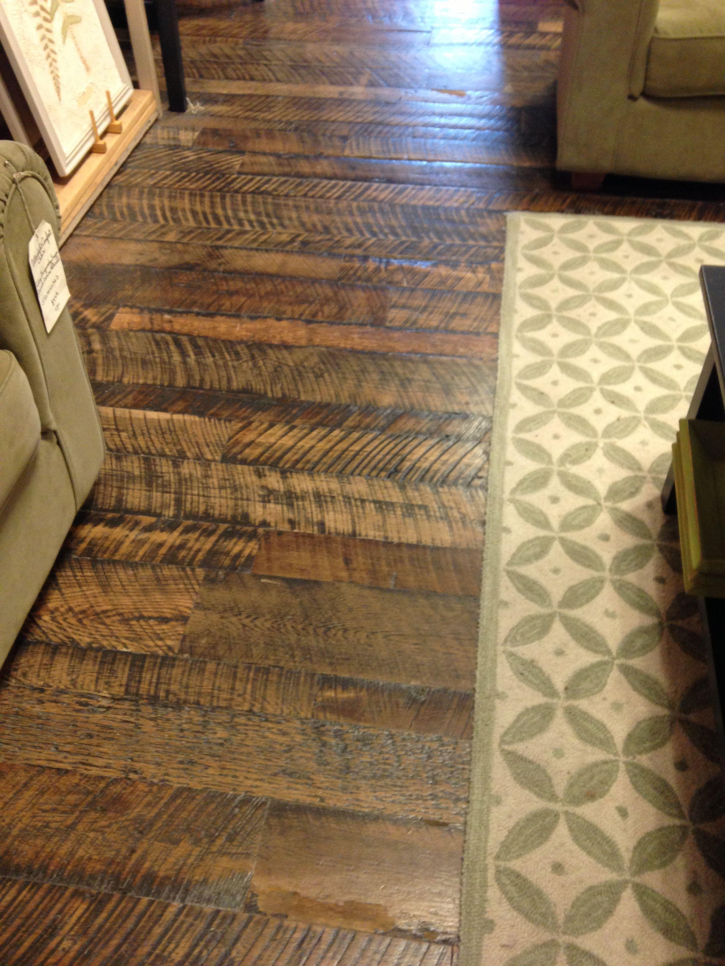 Rough Sawn Wood Floors More