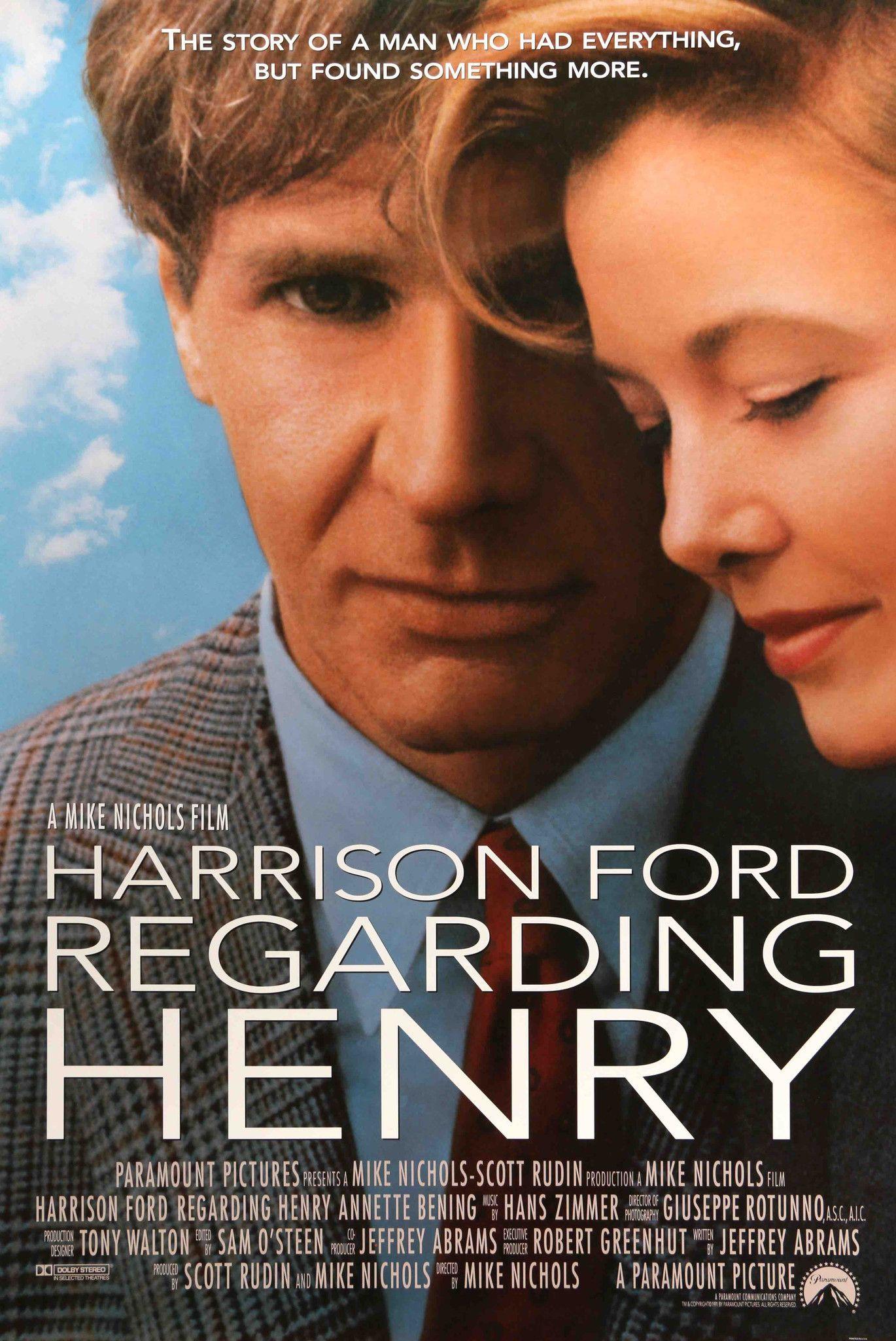 Regarding Henry 1991 De 2020 Filmes Hd Filmes E Filmes Romanticos