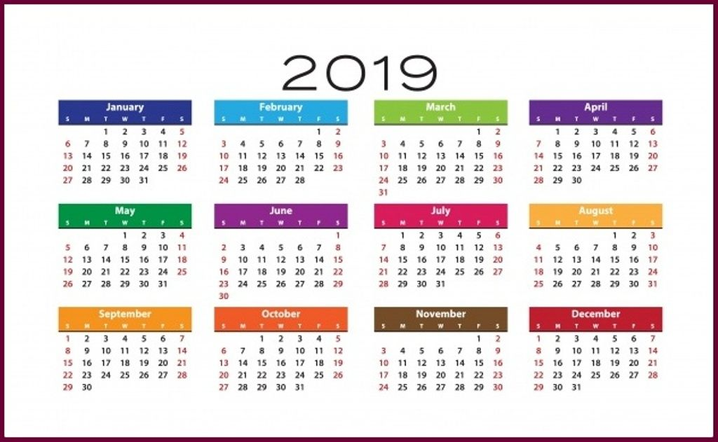 Free Printable 2020 Calendar Download Calendar Template