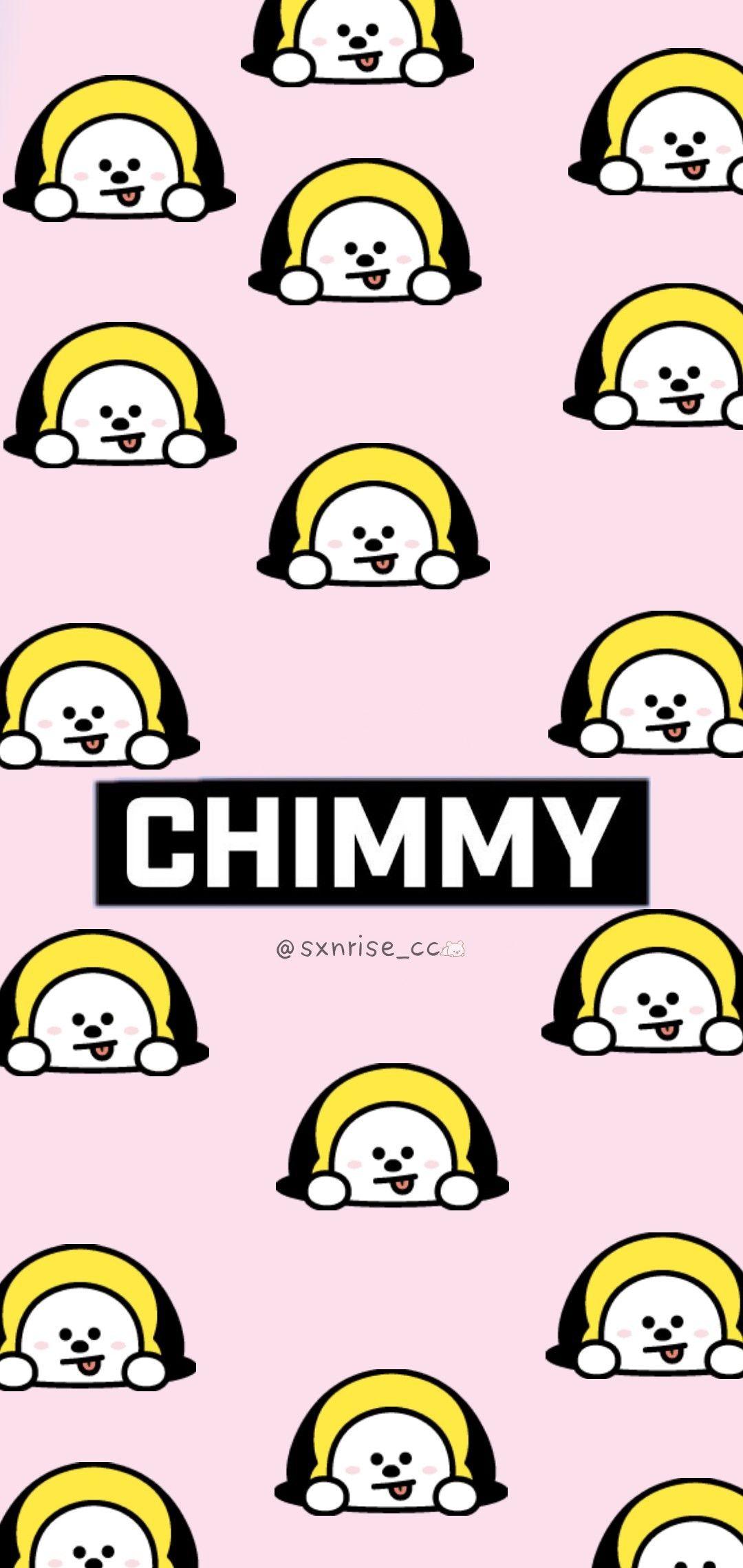 Bt21 Bts Chimmy Kpop Wallpaper Iphonex Cool Dogyellow