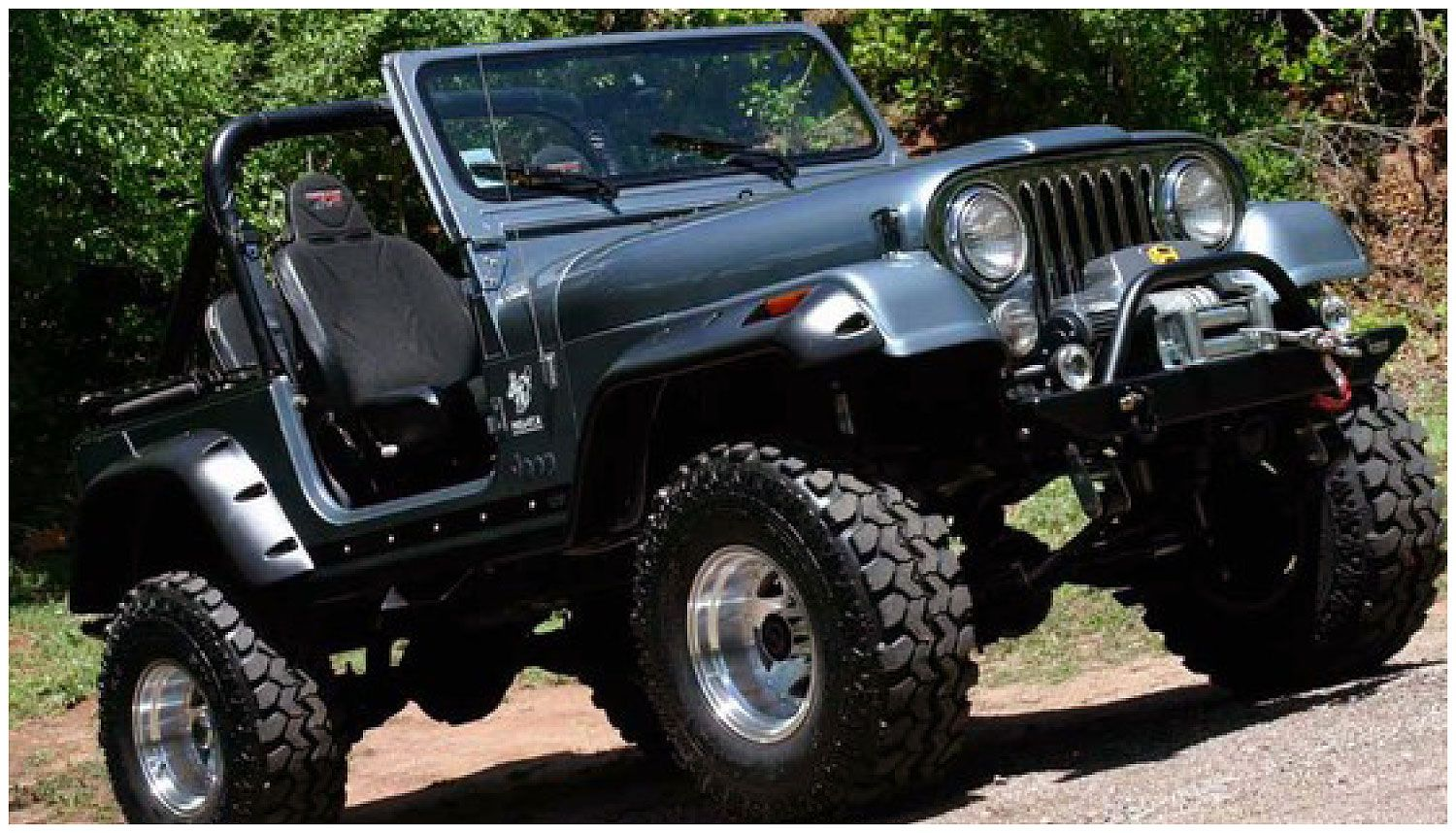 small resolution of image result for jeep cj7 stock front bumper