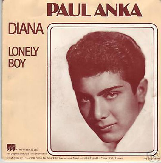 Paul Anka - Lonely Boy (1959)保羅·安卡 歌詞 lyrics《經典老歌線上聽》