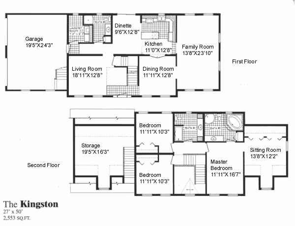 2 story polebarn house plans two story home plan d7216 this two half story house - Two Storey House Plans