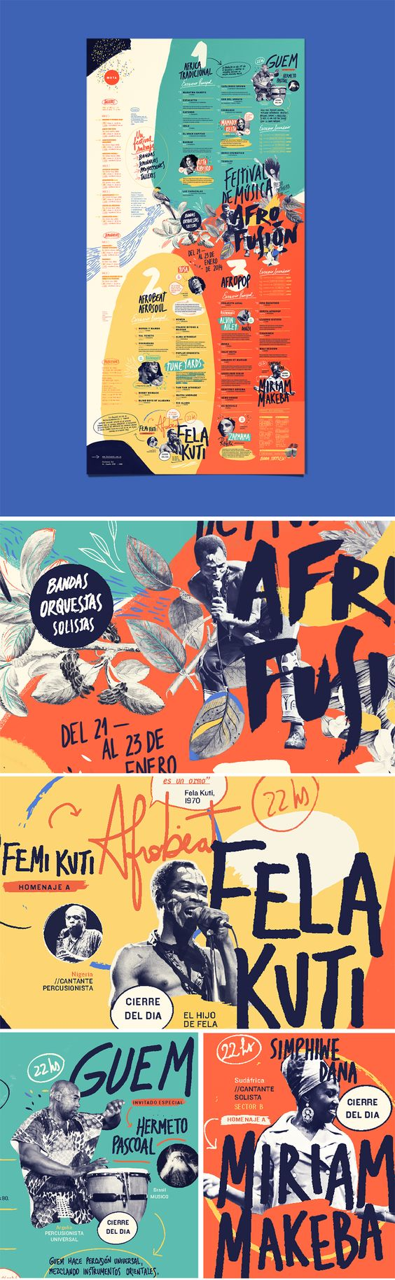 AFRO FUSION FESTIVAL on Behance: