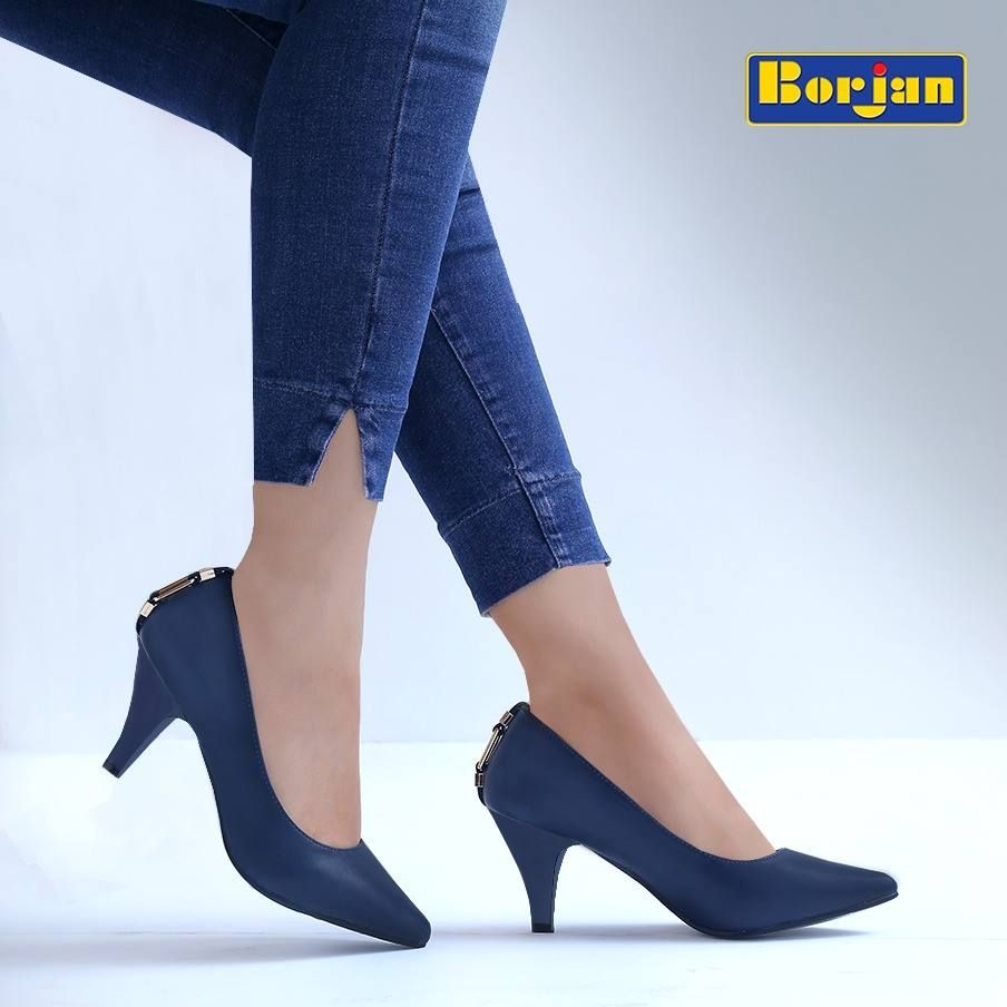 Latest Blue Borjan Shoes Collection 2019 for Girls