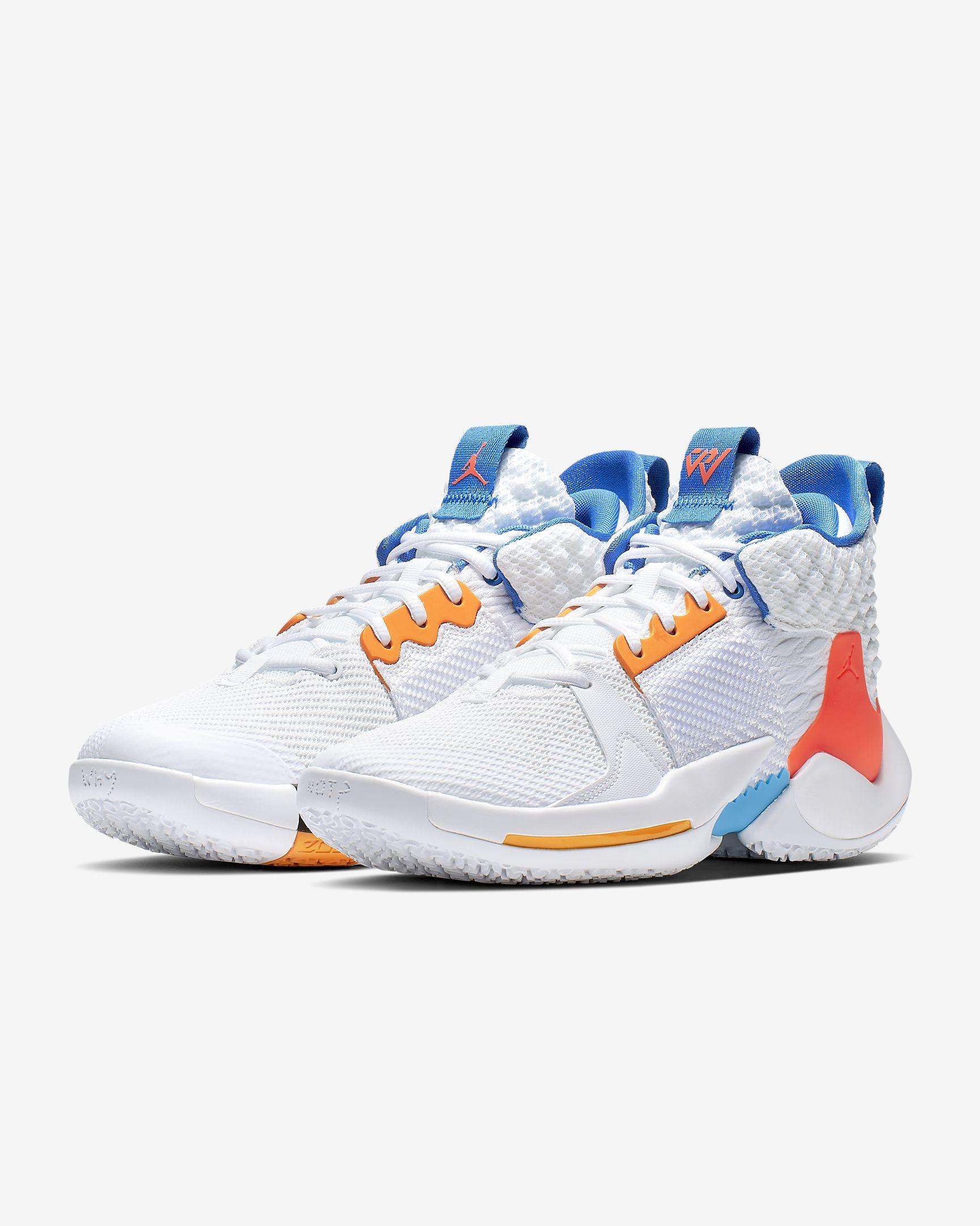 wholesale online shopping popular brand Nike Men's Basketball Shoe Jordan Why Not? Zer0.2 in 2019 ...