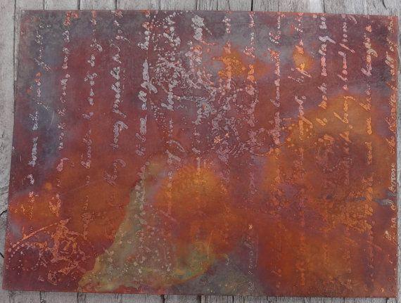 Pin On Copper Art