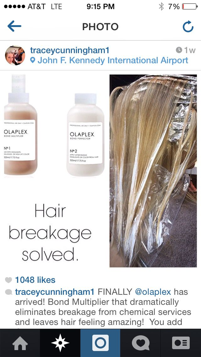 Olaplex I Will Not Get My Hair Colored Again By A Stylist