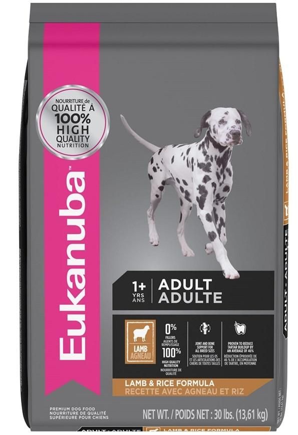 Eukanuba Adult Lamb And Rice Formula Dry Dog Food Dry Dog Food