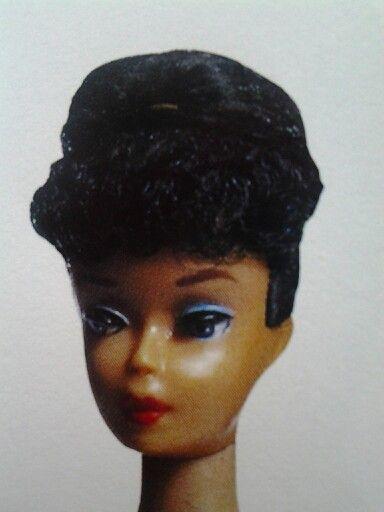 Brunette#4 Ponytail Barbie with a factory bun circa 1960 | Barbie doll  house, Vintage barbie dolls, Barbie