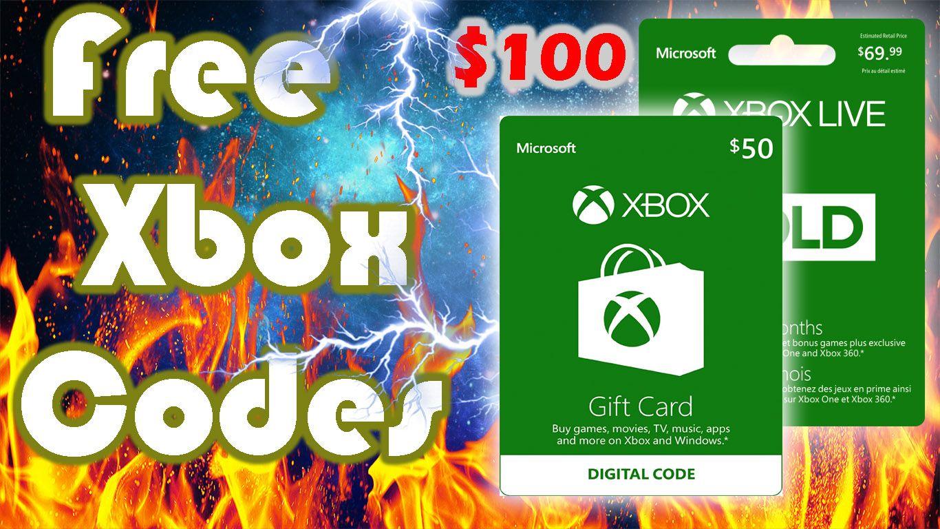 Free Xbox Live Codes Xbox Live Gold Codes Generator No Human Verification No Survey Xbox Gift Card Xbox Gifts Free Gift Card Generator