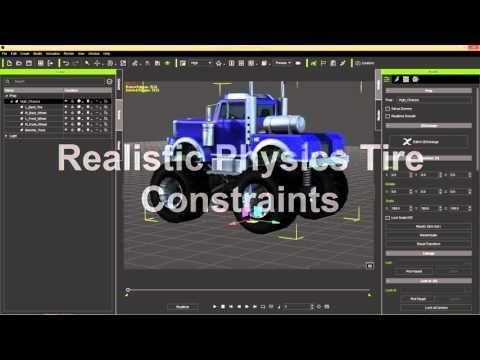 iClone Basics - Transform vs  Physics Wheel Animation