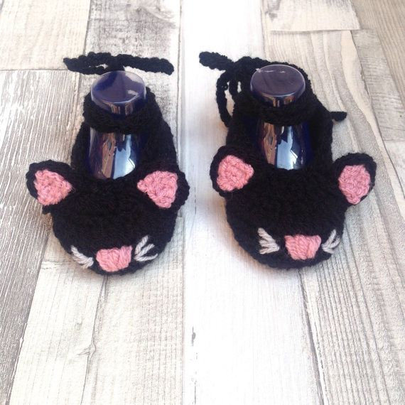 Baby cat shoes, Girls kitty shoes, Baby pumps,Baby mary Janes ...