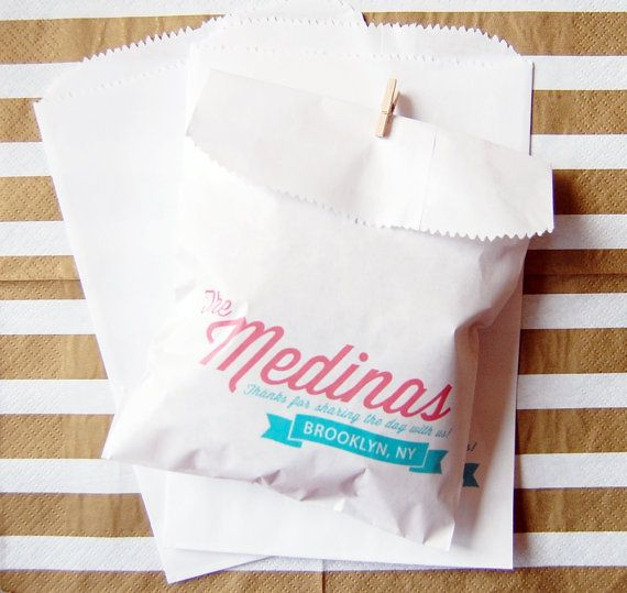 50 Arrow and Heart Candy Buffet Bags Wedding by FoxandHoundPaperie, $30.00