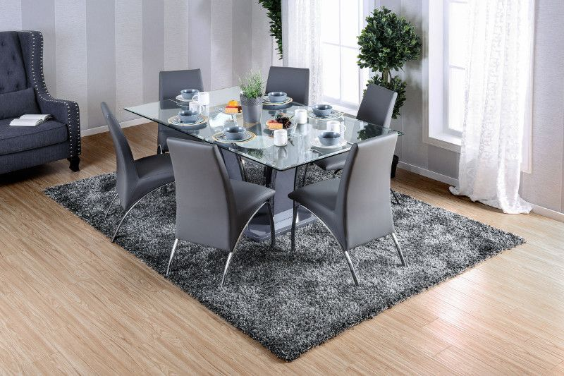 Atami 7 Piece Dining Set Dining Room Sets Metal Dining Table