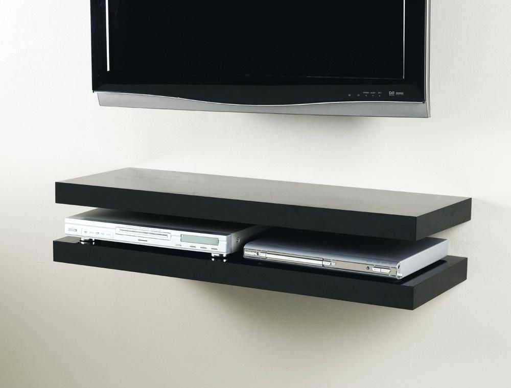Media Floating Shelf Kit The Shelving Shop Floating Shelves Above Tv