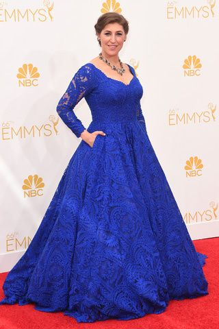 Red Carpet: La 66 Edición de los Primetime Emmy Awards   MAYIM BIALIK