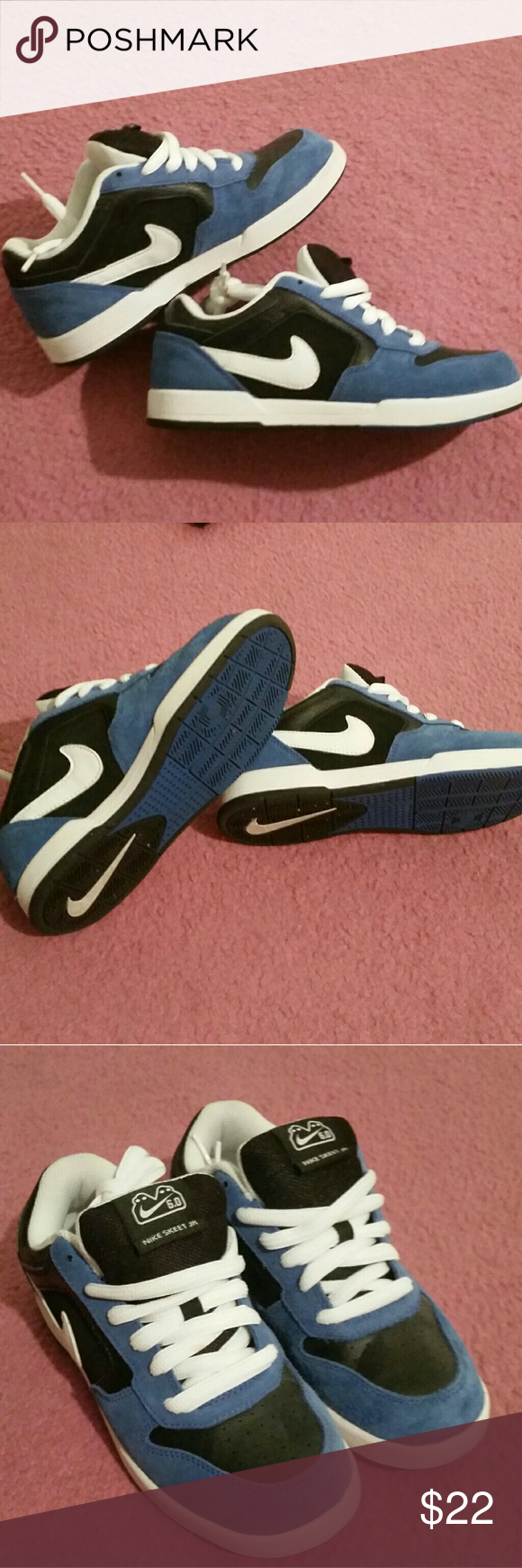 e27a4d507 Nike Skeet Jr (Kids) Size 4.5 Kids size 4.5 Suede Blue Great pre-owned  condition Very clean Nike Shoes Sneakers