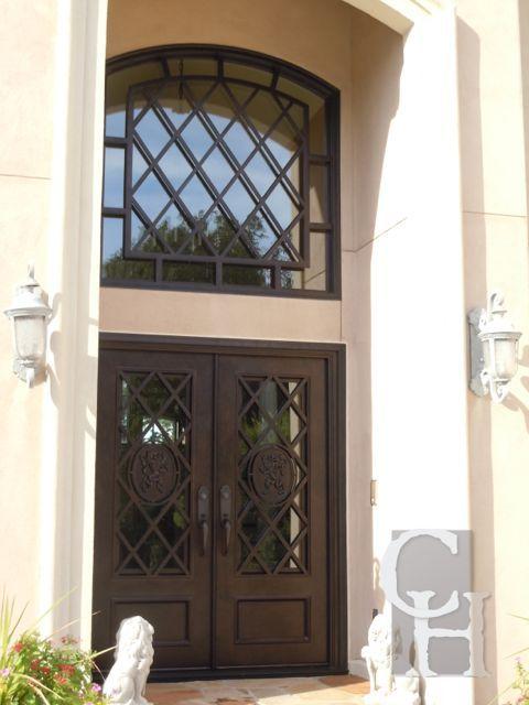 Iron Double Door Clark Hall Iron Doors Charlotte Nc Remodeling