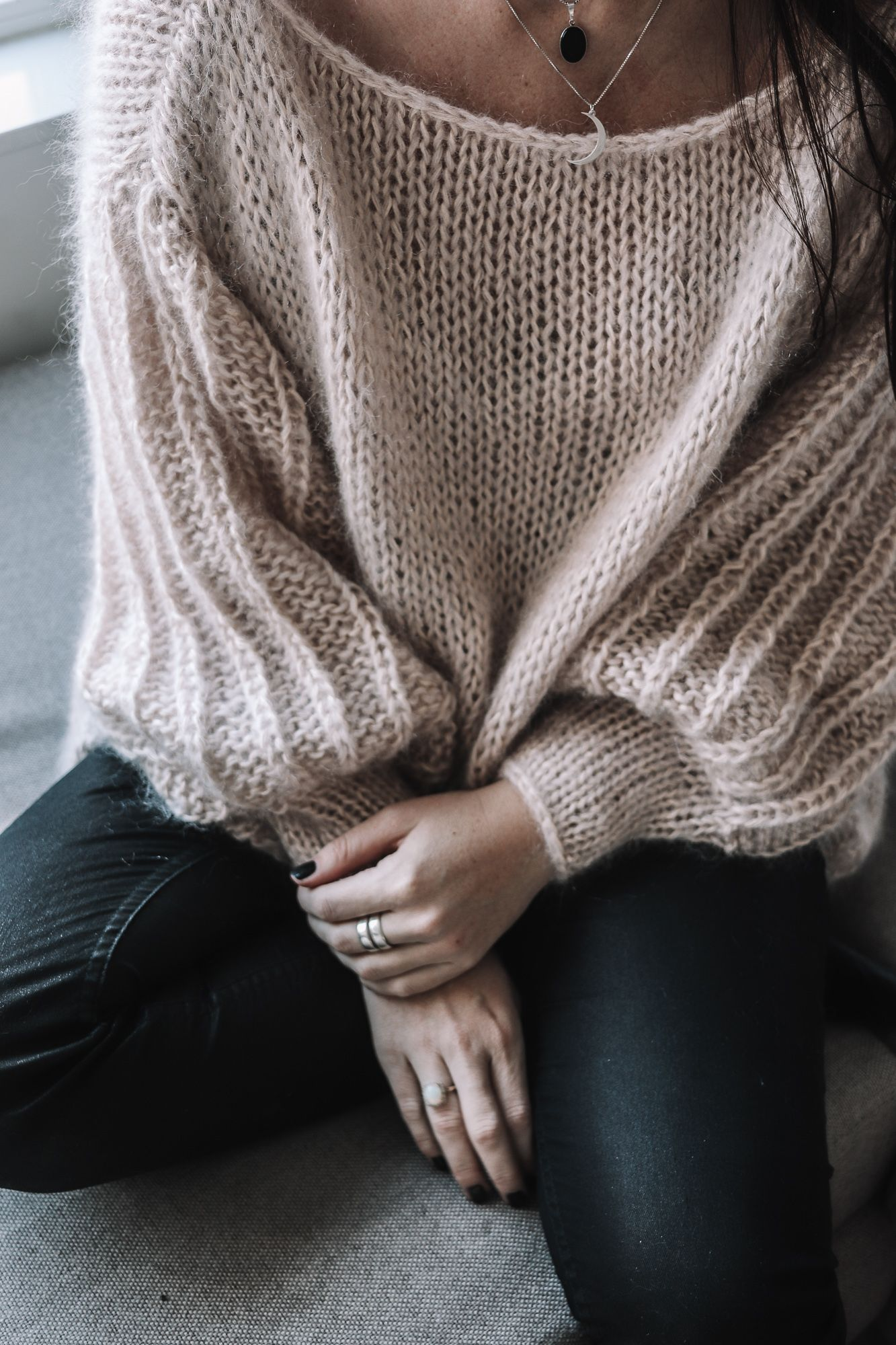 Mijn eerste oversized trui • Miss Murphy – Knitting