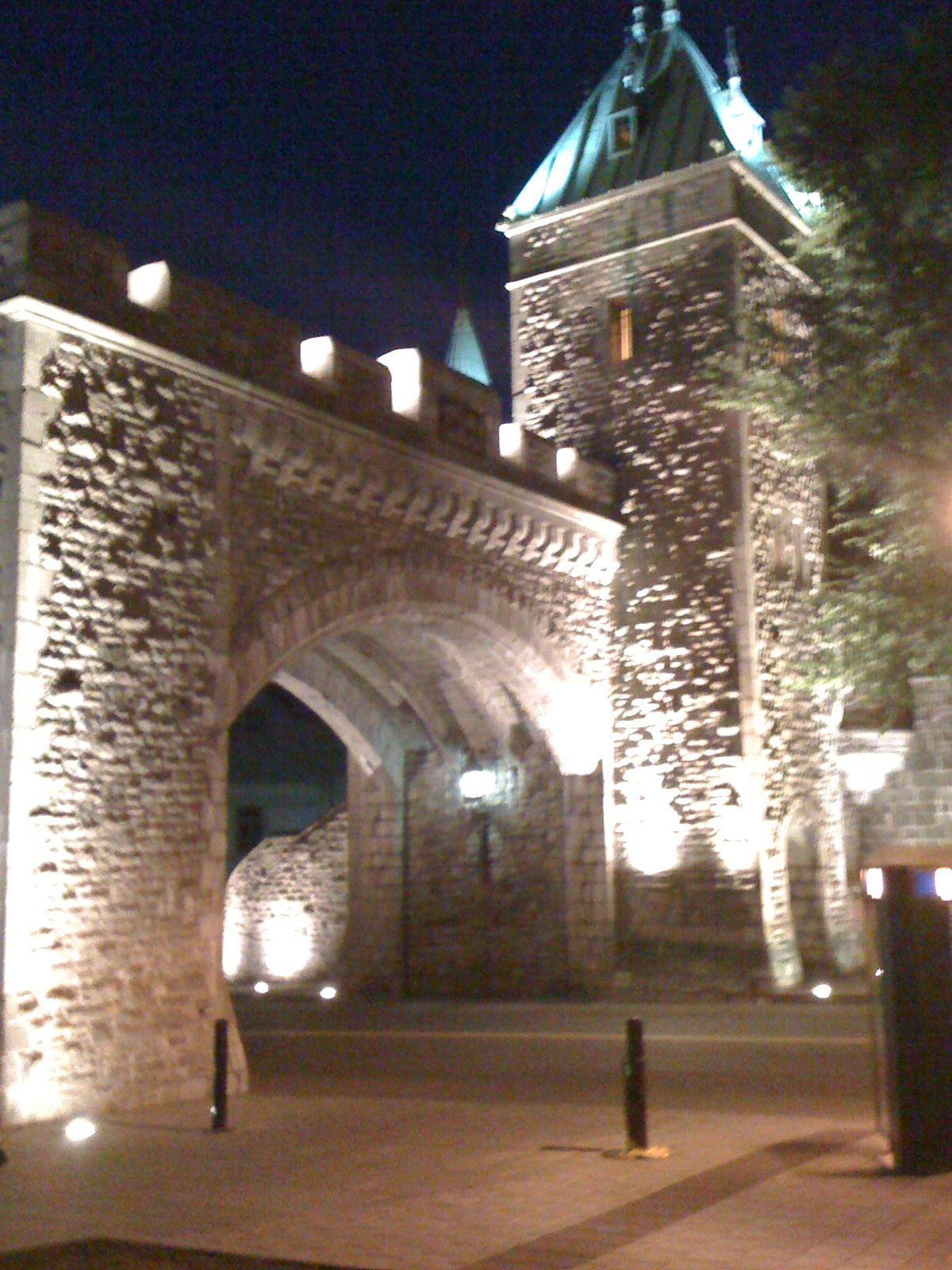 Porte St-Louis, Ville de Québec