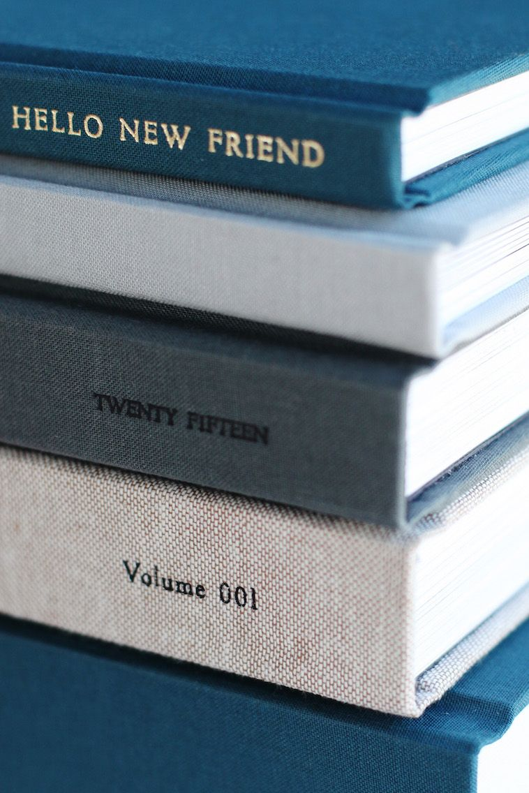 Foil Stamping Book Cover Diy ~ Layflat photo album palette album books and