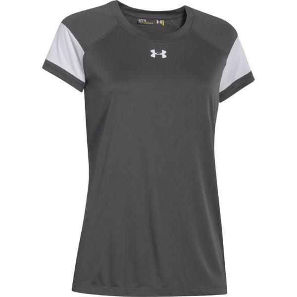 Under Armour Womens Running Fitness Workout T-Shirt Athletic BHFO 3225