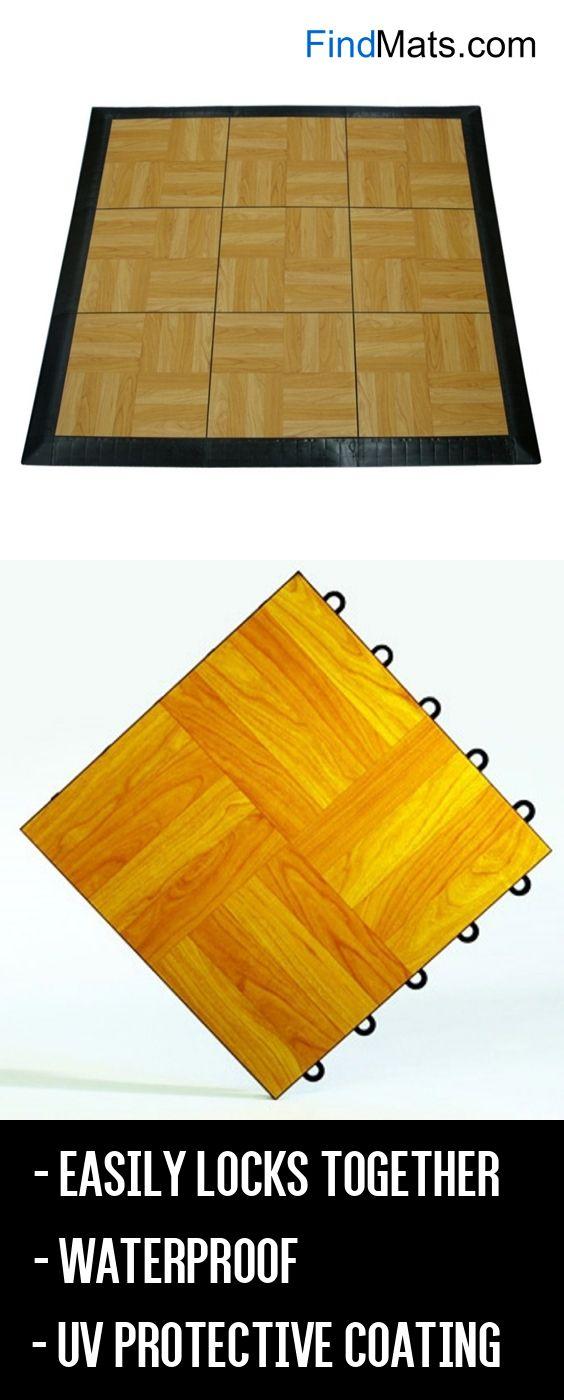 Greatmats Portable Dance Floor Light Oak From Findmats